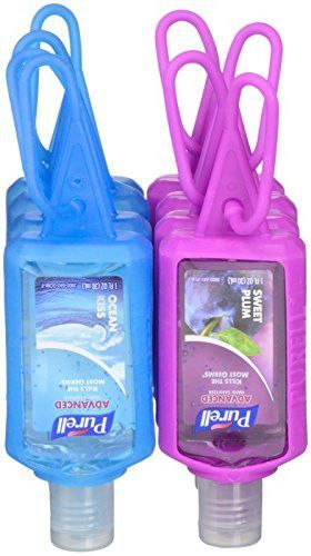 Purell Advanced Hand Sanitizer Travel Sized Jelly Wrap Bottles