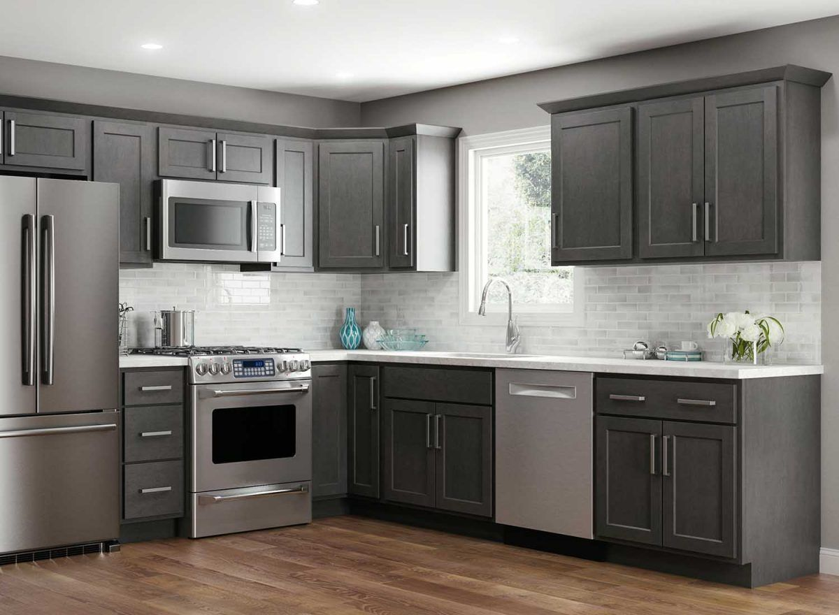 Georgetown Slate Maple Kountry Cabinets Home Furnishings In 2020 Kitchen Remodel Small Kitchen Cabinet Styles Slate Kitchen