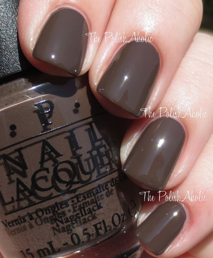 The PolishAholic: OPI Fall 2014 Nordic Collection Swatches & Review ...