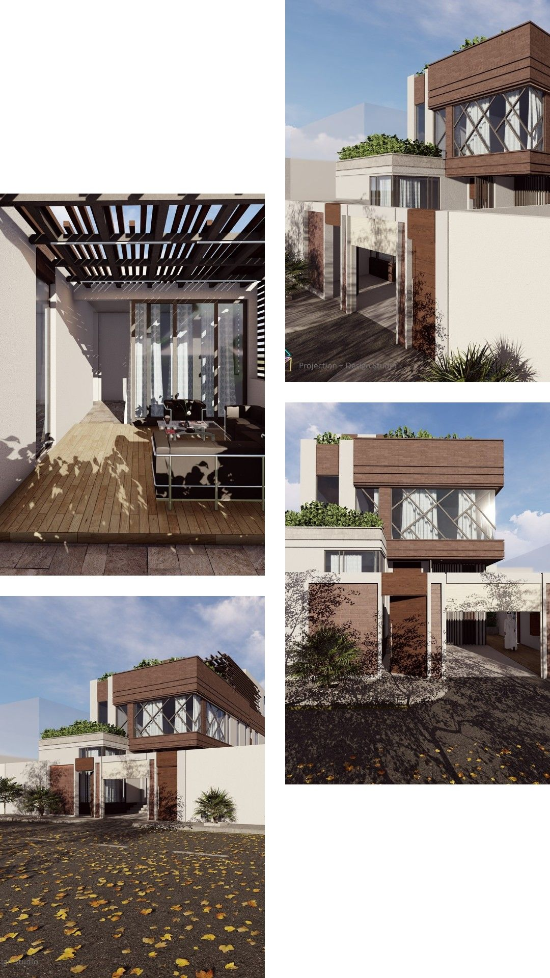 تصميم منزل مودرن خارجي 3d Architecture Architecture Design Design