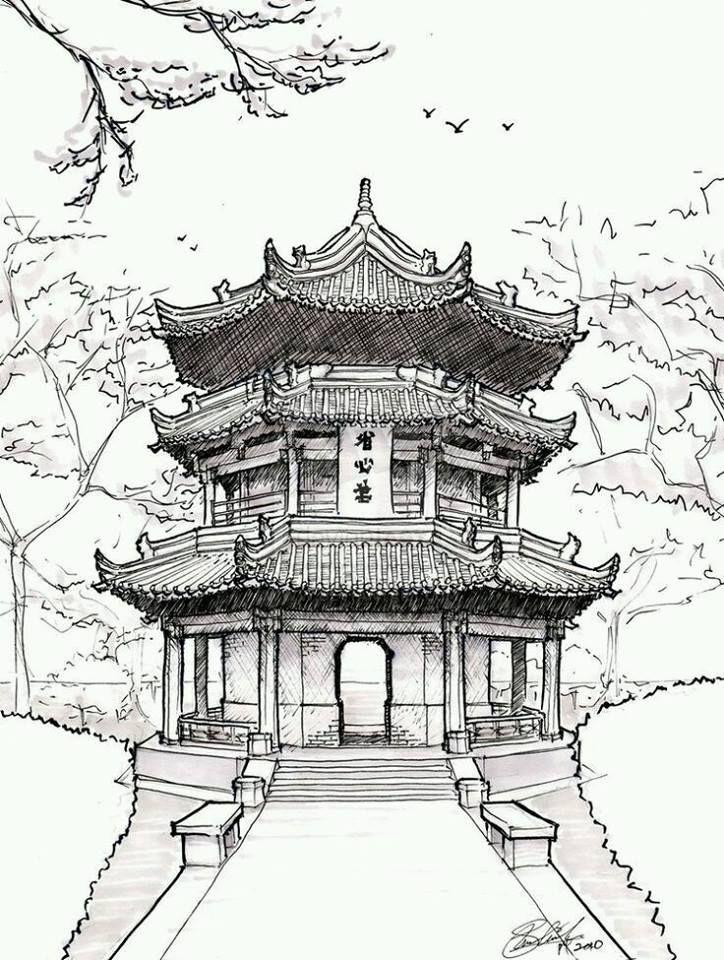 Thummanit Phuvasatien Dessin Architecture Dessin Au
