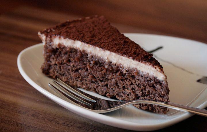 Hier Ist Das Rezept Vom Schoko Mandel Kuchen Mit Cashew Vanille