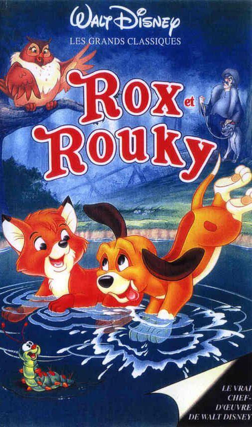 Rox Et Rouky Les Affiches Du Film Fan De Cinema Rox Et Rouky Dessin Anime Walt Disney Films Dessins Animes