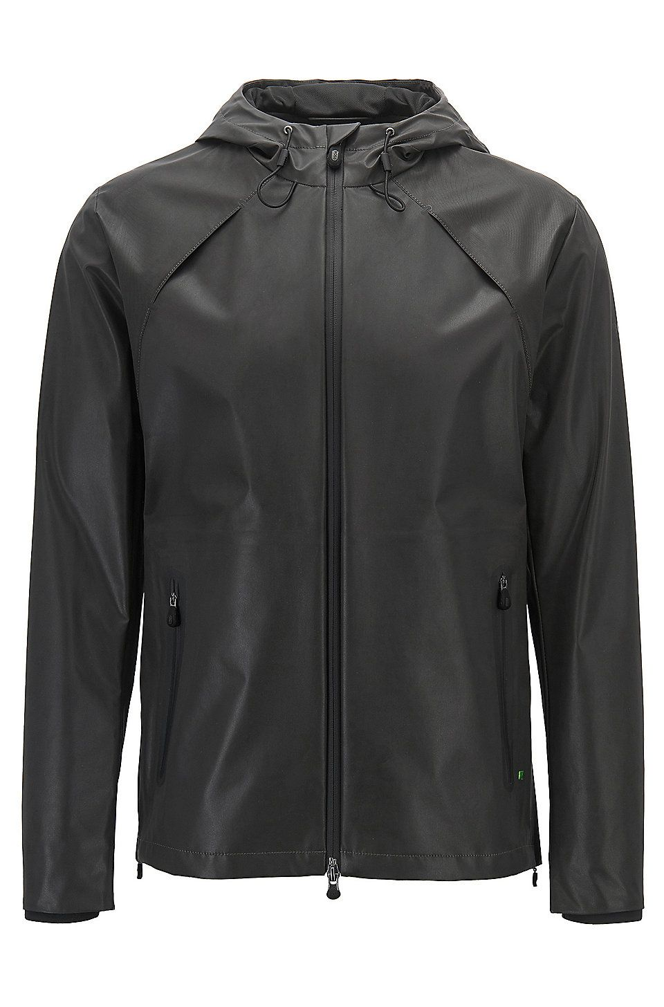 2877526a3930 HUGO BOSS Reflective softshell jacket in water-repellent fabric - Black  Casual Jackets from BOSS for Men in the official HUGO BOSS Online Store  free ...