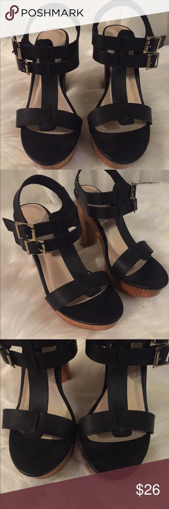 b9887ddbea97 ROUGE HELIUM HELLS SANDALS 👡 ROUGE HELIUM HELLS SANDALS 👡 Black size 9 Rouge  Helium Shoes Heels