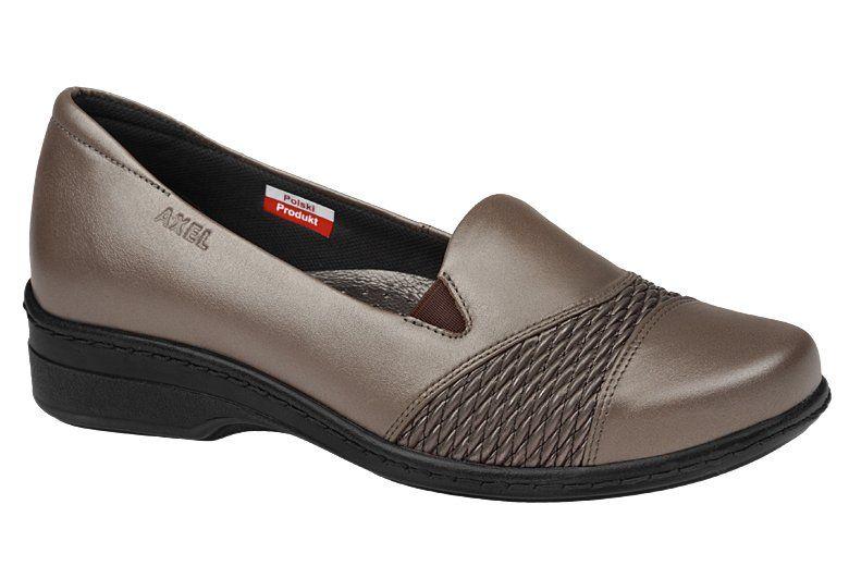Polbuty Na Koturnie Axel Comfort 1370 Perlowe Na Haluksy Neptunobuwie Pl Slip On Sneaker Sneakers Shoes