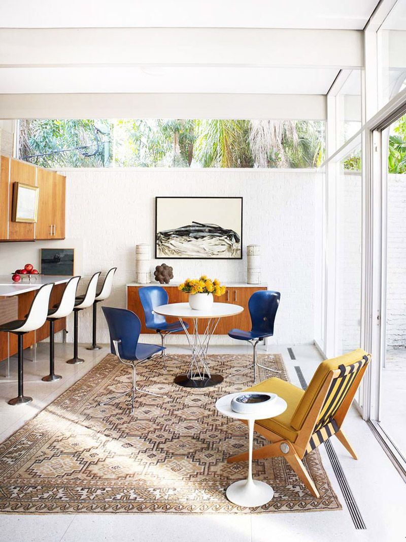 A Modernist Home in New Orleans | Room, Interiors and Mid century
