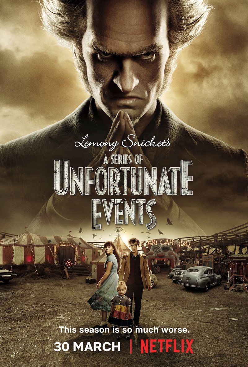 Trailer For A Series Of Unfortunate Events Season 2 Arrives Online