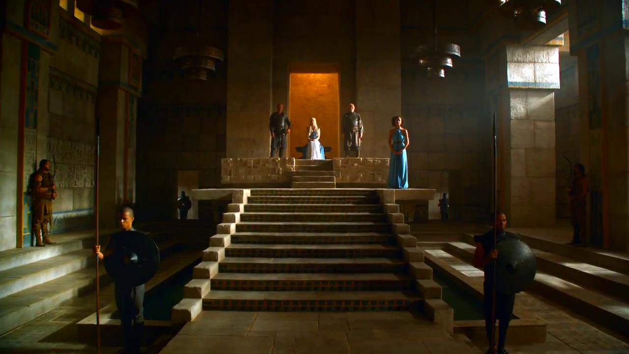 Meereen Throne Room Memes Landing Game of thrones set