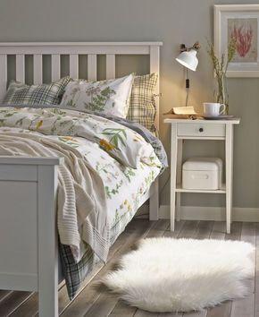 Hemnes Bed Frame White Stain Lonset Ikea Hemnes Bed Hemnes