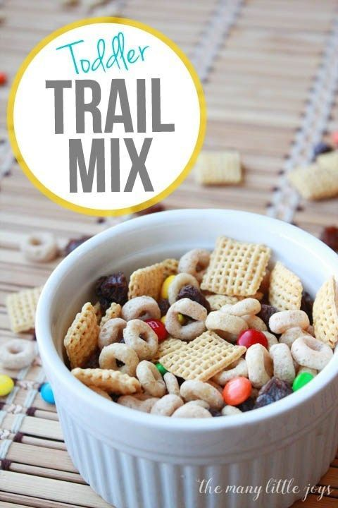 Toddler Trail Mix (perfect for moms on the go) – The Many Little Joys – Carey&CleanEatingS