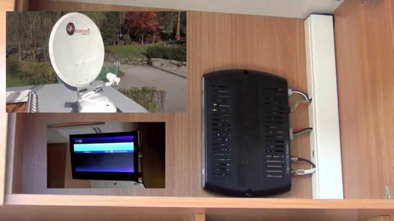 automatische camping satelliten anlage asr 650 flat im. Black Bedroom Furniture Sets. Home Design Ideas