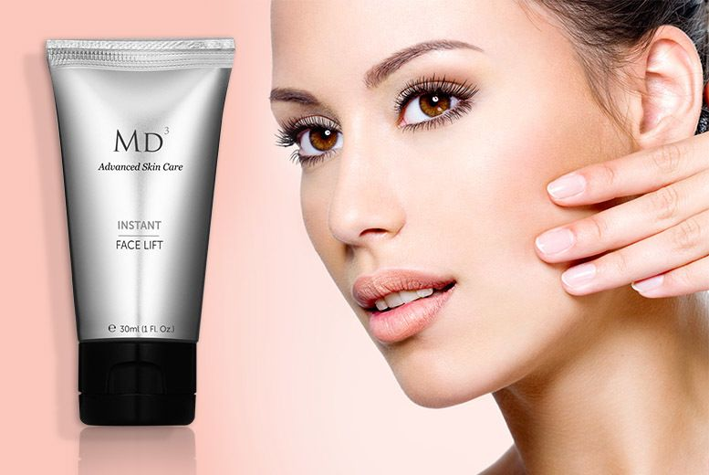I just bought 30ml MD3 'Instant Face Lift' Cream (now £14.99) via @wowcher