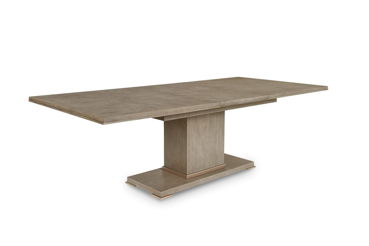 ART Cityscapes Bedford Rectangular Dining Table In Stone - Stone top rectangular dining table