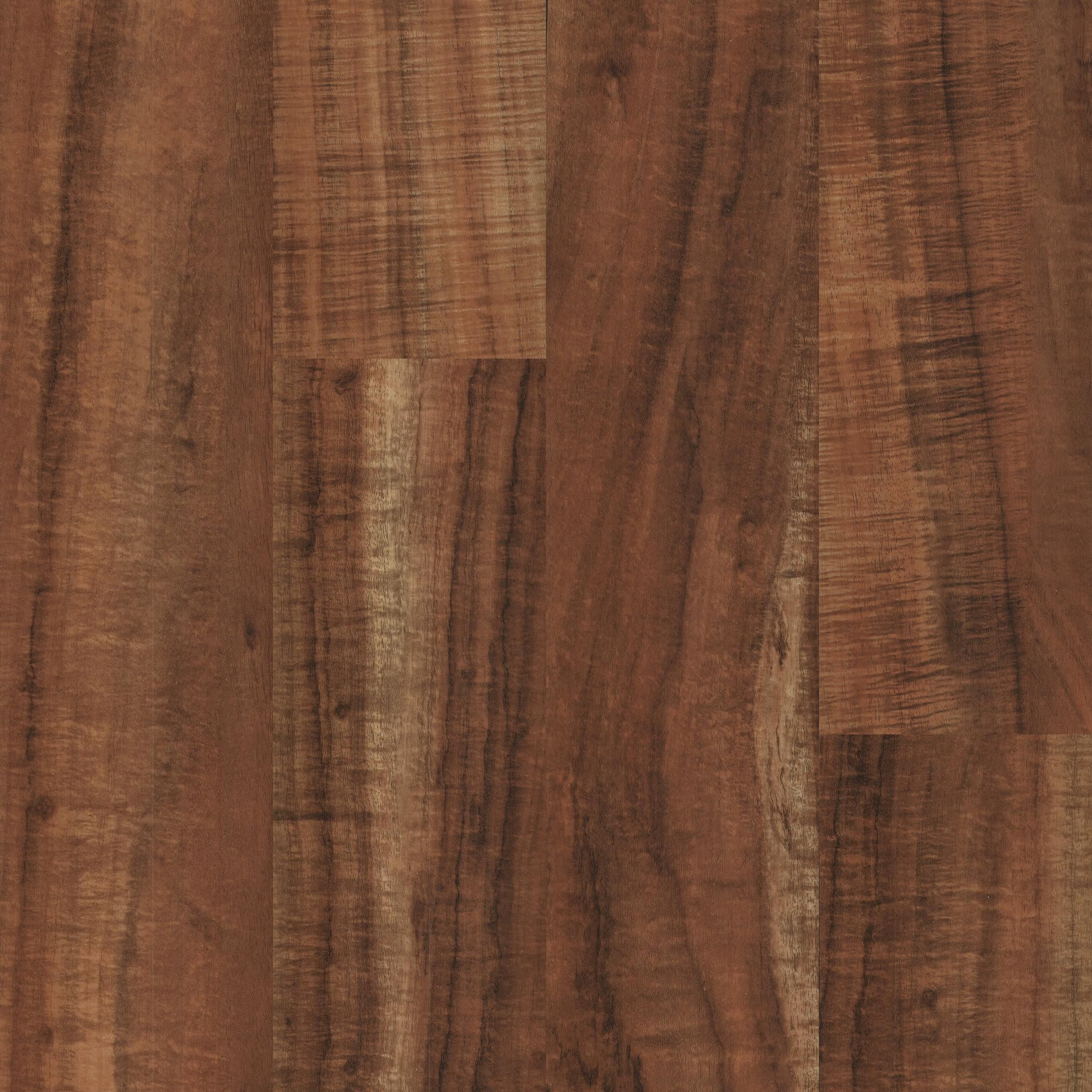 "IVC Sedona Cherry 6"" Waterproof Click Together LVT Vinyl"