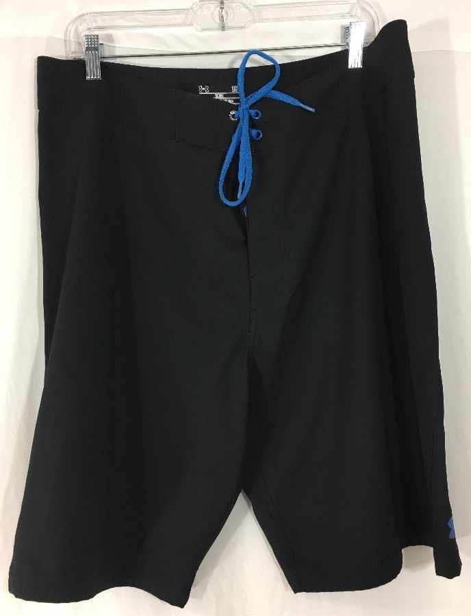 98d8ddf0bb Under Armour Board Shorts Mens 38 Loose Heat Gear Surf Trunks Swim Shorts # Underarmour #Trunks