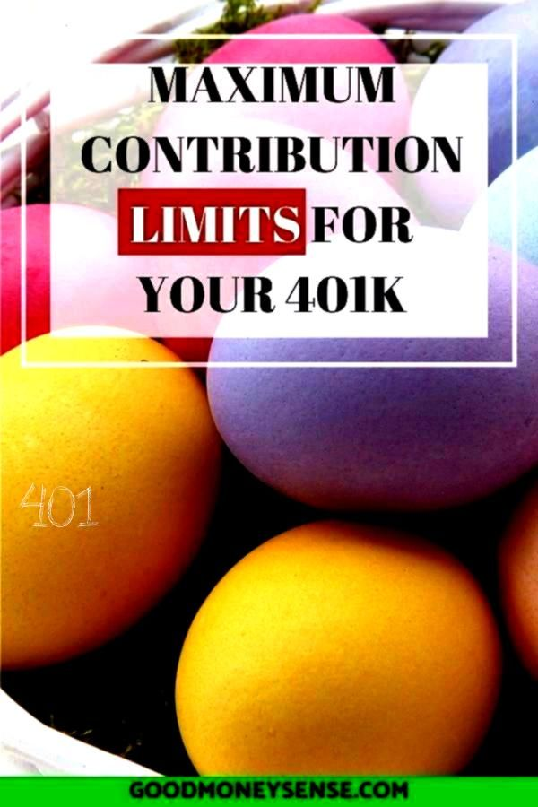 the best way to save money for retirement while saving on your taxes is with a 401k Discover what the annual contribution limit is that you can contribute to your nest eg...