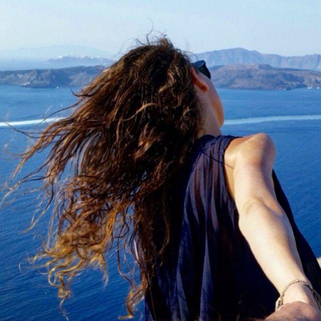 FOLLOW ME in the Caldera, Santorini - Greece  Ph: Verdiana Chieffi