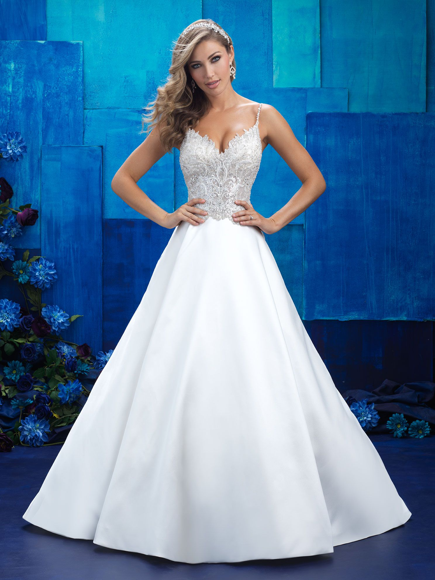 Save up to 20% on this This white ballgown that intricately beaded ...