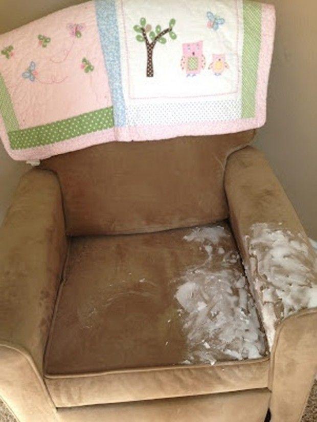 flecken reinigen backpulver mit wasser mischen auftragen komplett trocknen lassen. Black Bedroom Furniture Sets. Home Design Ideas