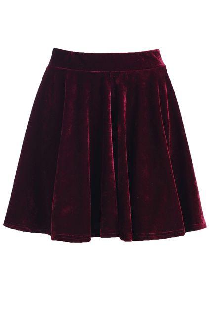 #velvetmetalic #skirt