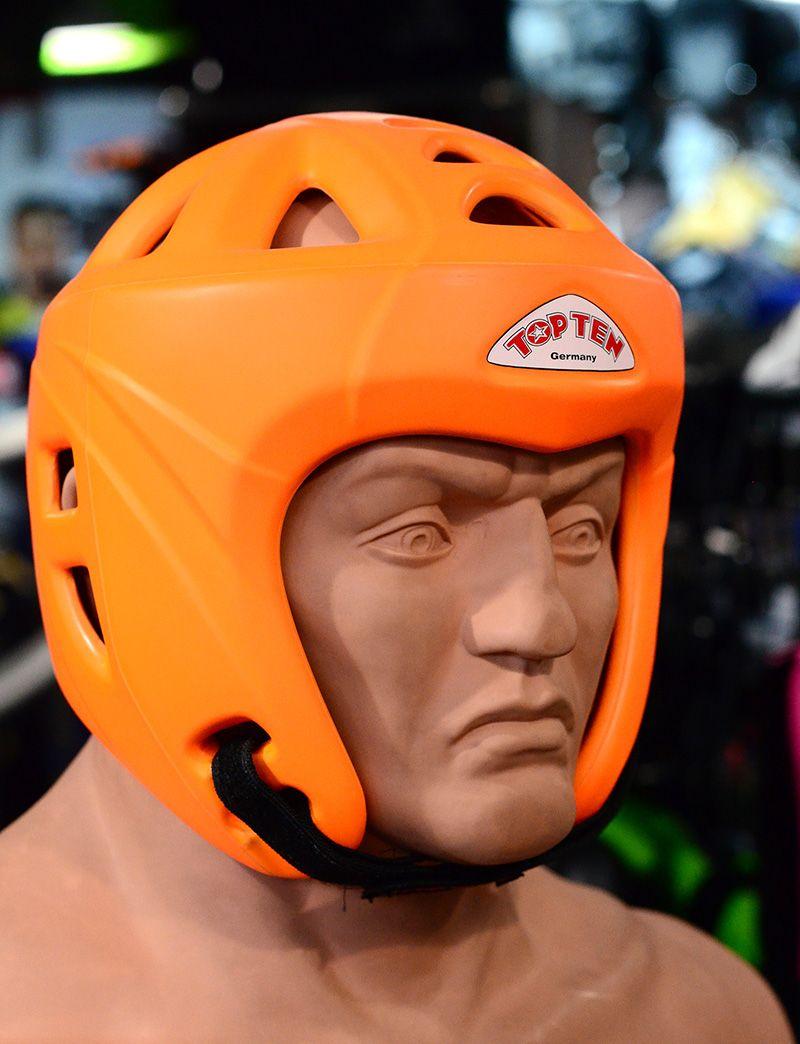 Top Ten Avantgarde Headguard Kickboxing Head Gear Blue Boxing Head Guard