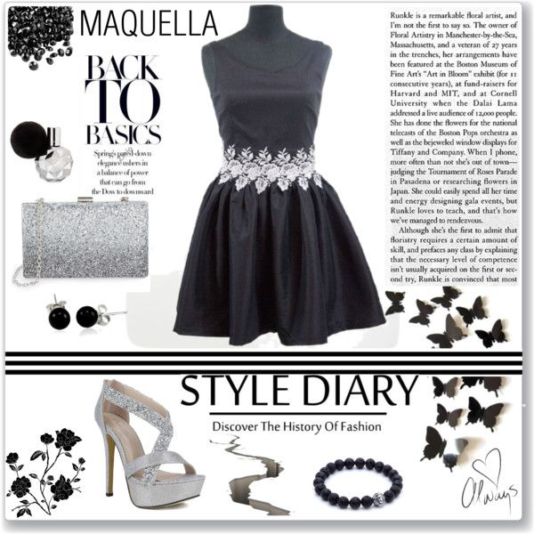 MAQUELLA 4/4 by meldin on Polyvore featuring moda, Sondra Roberts, Bling Jewelry and Love Always