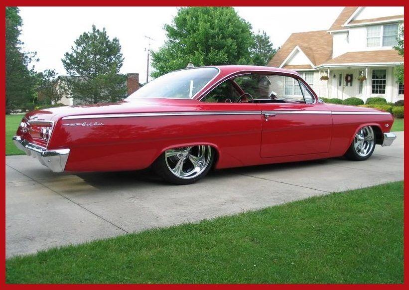 Slammed 62 Impala Bubbletop Chevrolet Cars Classic Cars