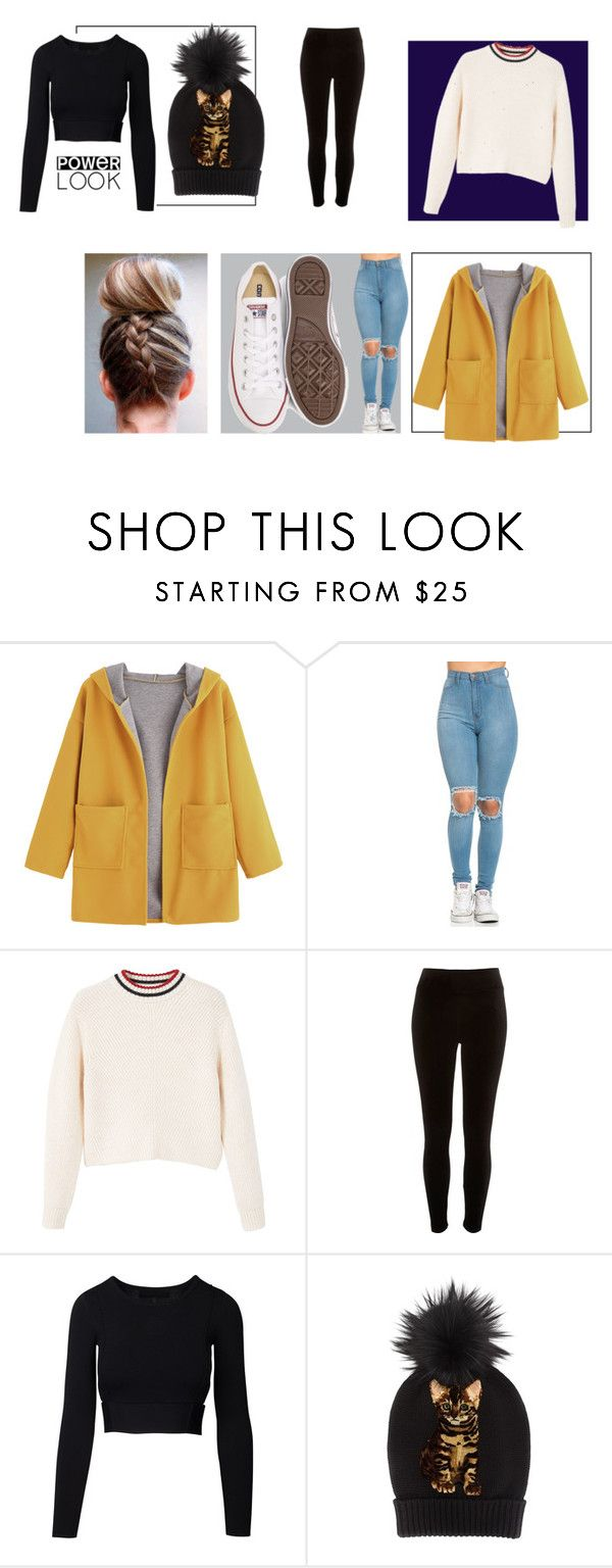 """""""power look"""" by unamilani on Polyvore featuring MANGO, River Island, Dolce&Gabbana e Converse"""