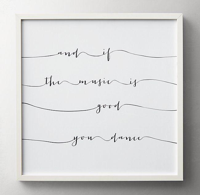 Photo of Lyrical Quote Art – Dance