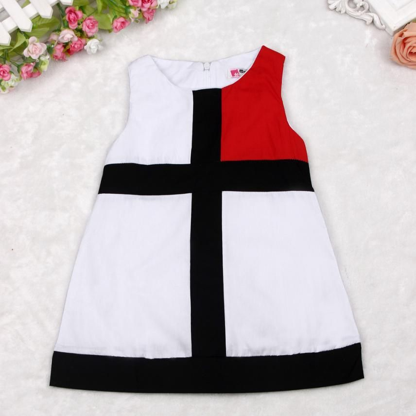 $5.05 (Buy here: https://alitems.com/g/1e8d114494ebda23ff8b16525dc3e8/?i=5&ulp=https%3A%2F%2Fwww.aliexpress.com%2Fitem%2F2016-Summer-Sweet-Kids-Baby-Girls-Color-Cross-Sleeveless-Straight-Dress-Children-Clothes-Amazing-May-5%2F32660337631.html ) 2016 Summer Sweet Kids Baby Girls Color Cross Sleeveless Straight Dress Children Clothes Amazing May 5 for just $5.05