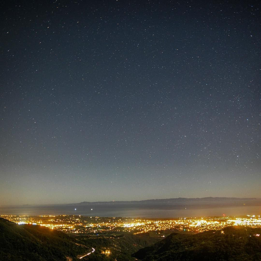 On instagram by iwant2shootu #astrophotography #contratahotel (o) http://ift.tt/1TwgSdE out in SB a couple nights ago