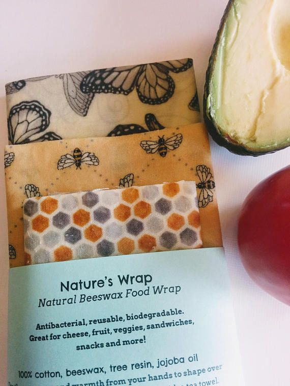 Beeswrap  Beeswax coated muslin to replace the use of plastic wrap