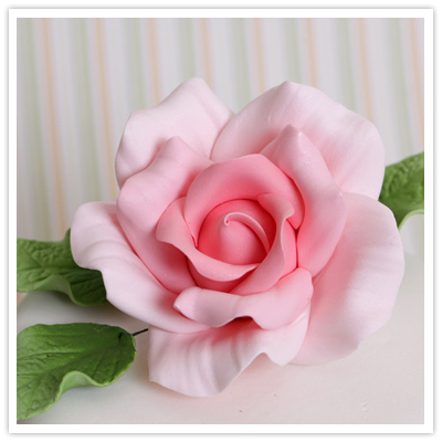 how to make sugar paste roses with cutters