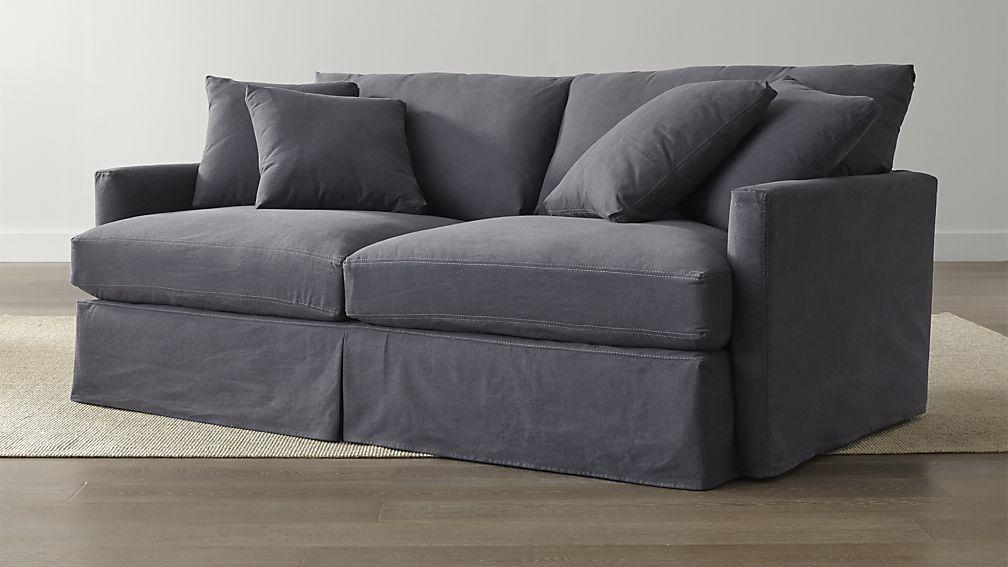 Lounge II Slipcovered 83 Sofa Crate and Barrel Crates