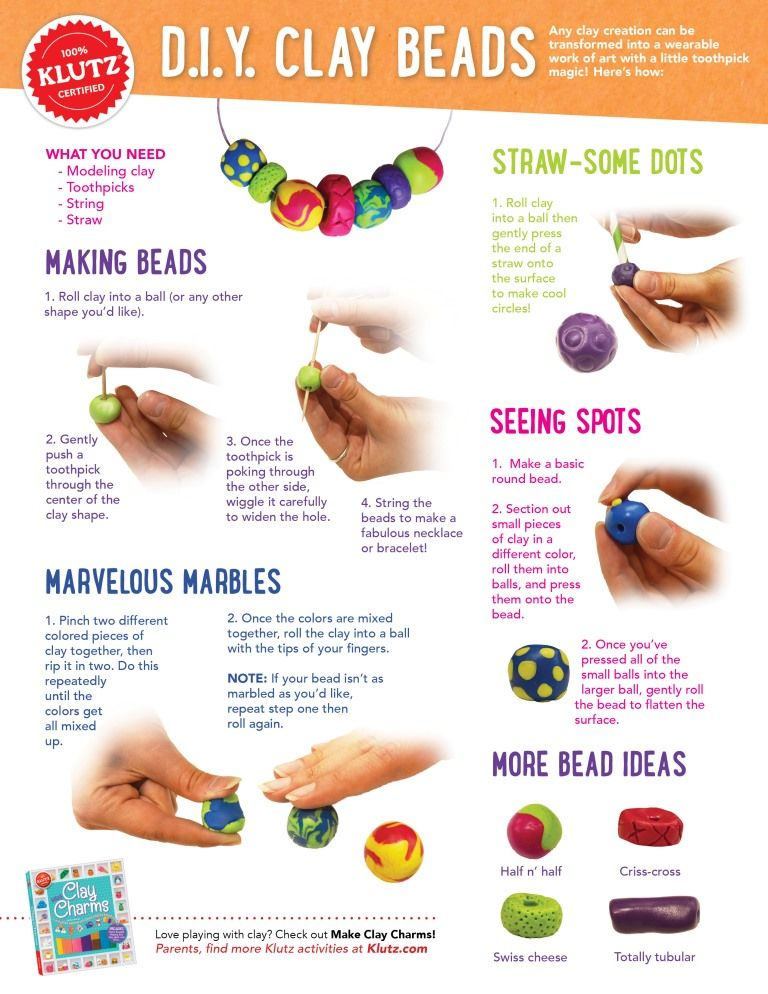 Step By Step Instructions To Make Amazing Clay Shapes And