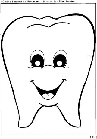 Resultado De Imagem Para Dente Eva Dentes Desenho Dente Para