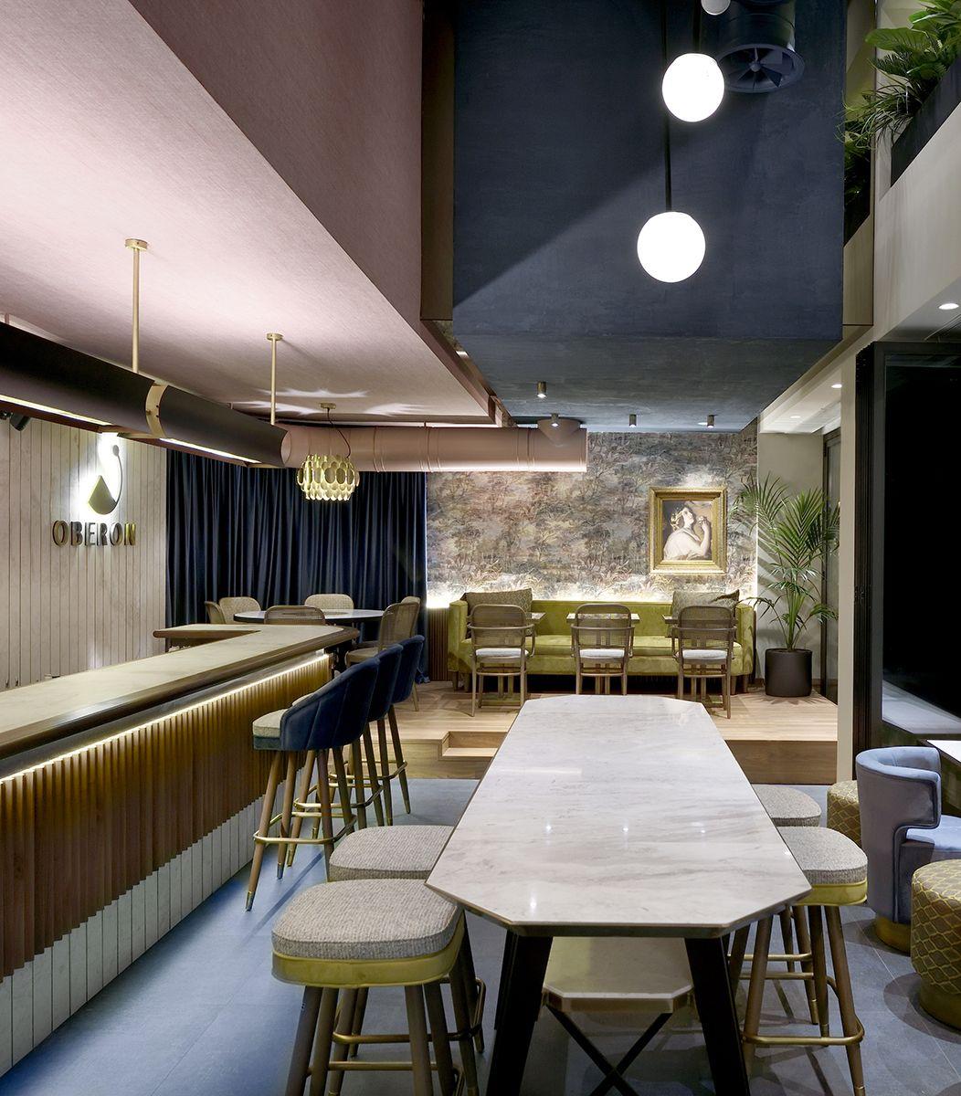 Oberon Cafe-Bar, Thessaloniki by Minas Kosmidis-Architecture In ...