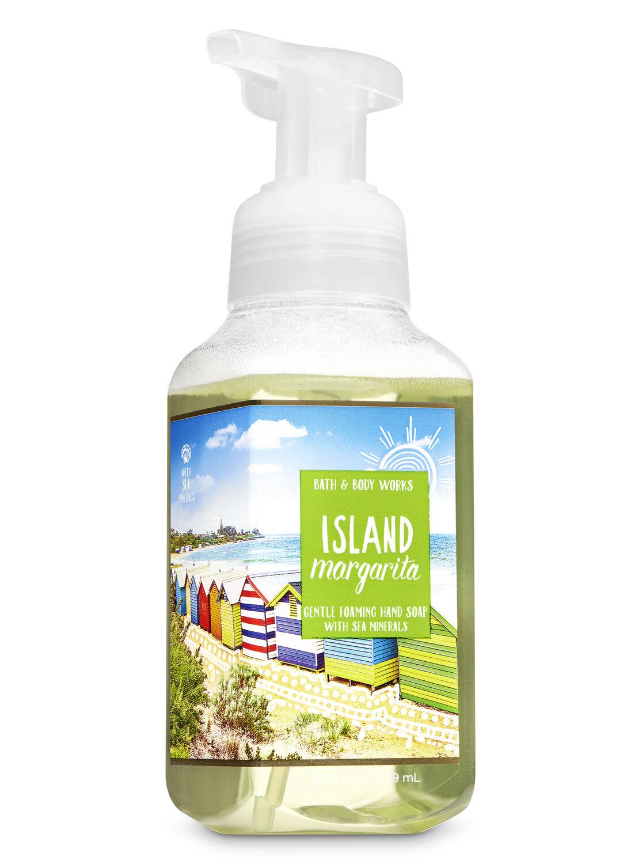 Island Margarita Gentle Foaming Hand Soap By Bath Body Works