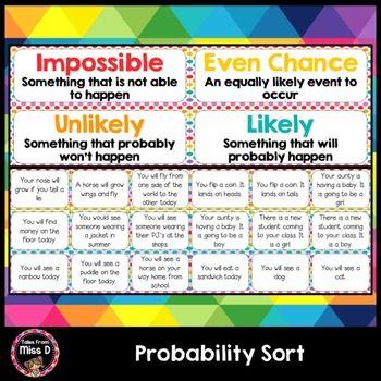 Probability Sort Probability Probability Games