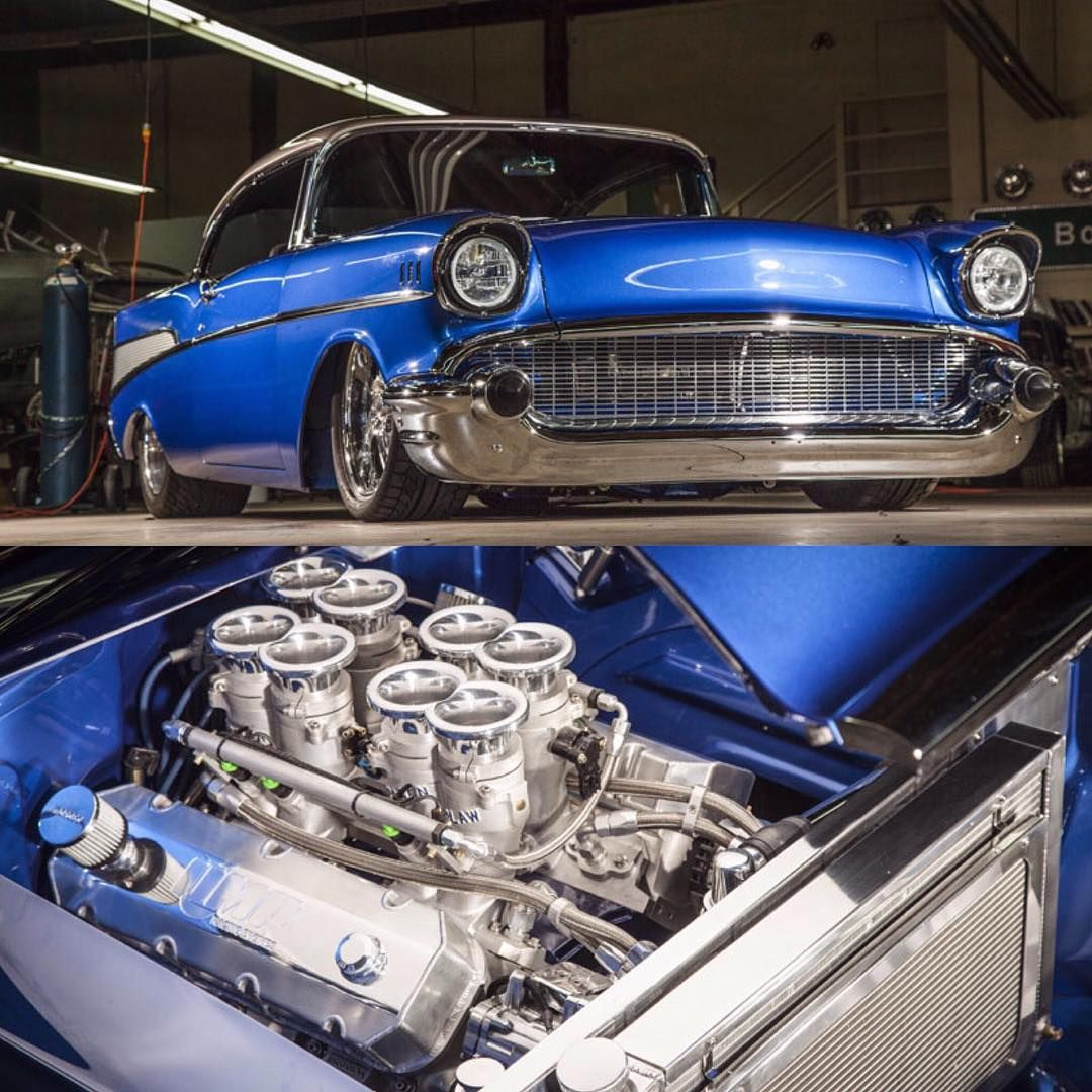 Throwbackthursday To Bodiestroud S 57 Chevy Belair That