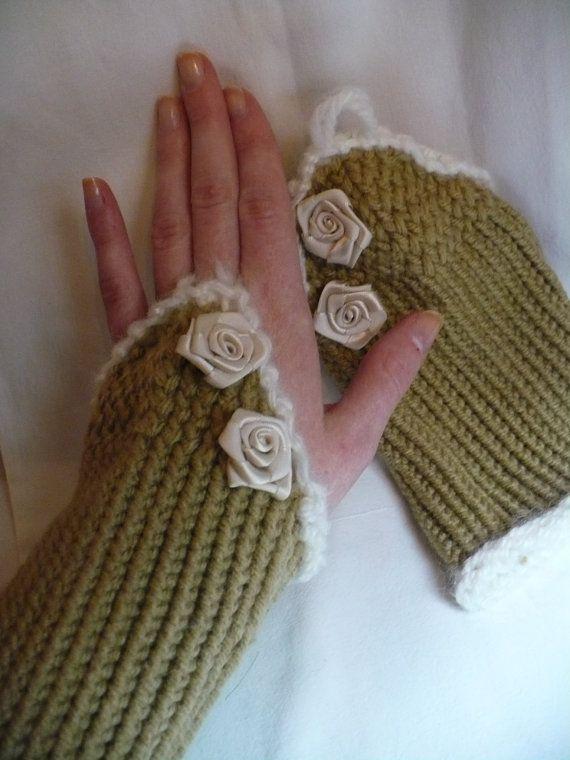 Épinglé sur Mitaines tricot