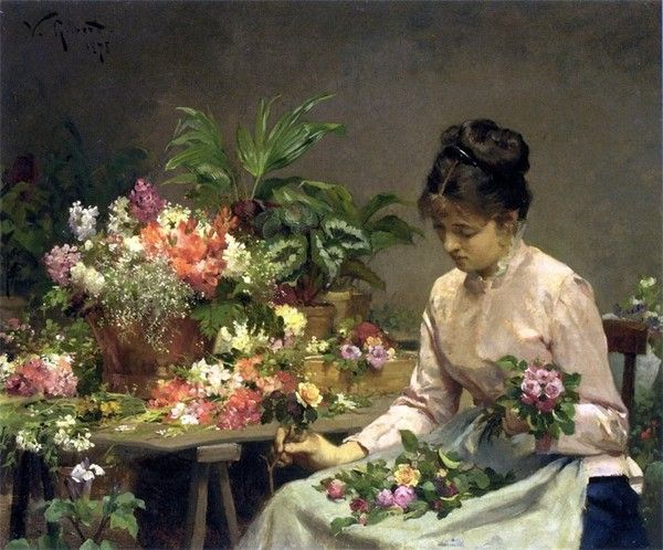 Peinture de Victor-Gabriel Gilbert