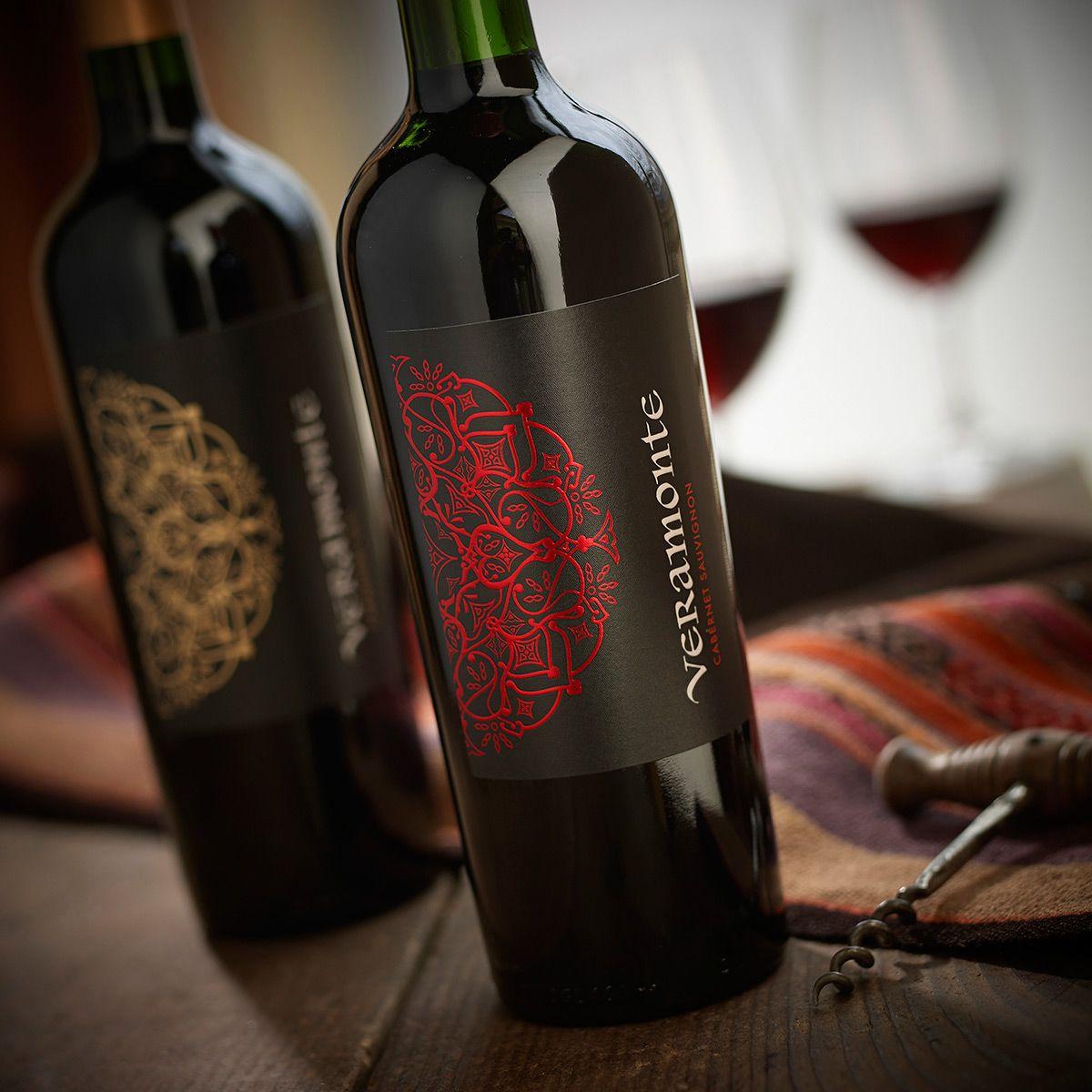 Veramonte Wines On Behance Wines Wine Bottle Bottle