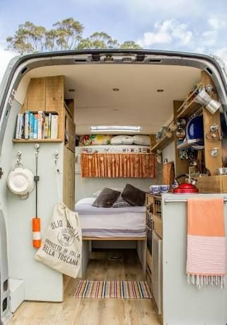 Just Look At The Sunshine Colours Van That Has Everything You Need For An Ultra Cosy Trip