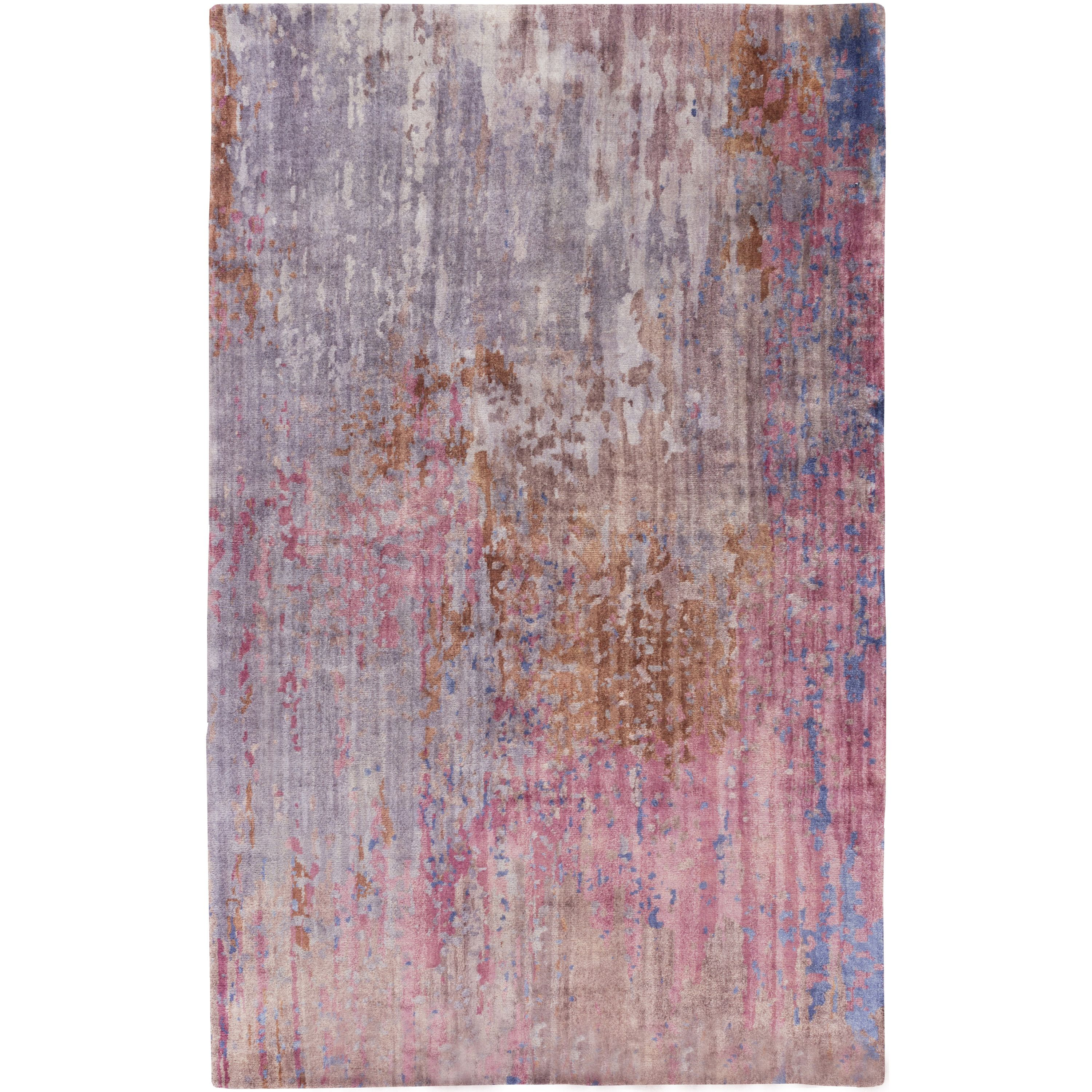 Aqualou Rug Lavender A Dreamy Watercolor Motif Helps To Create