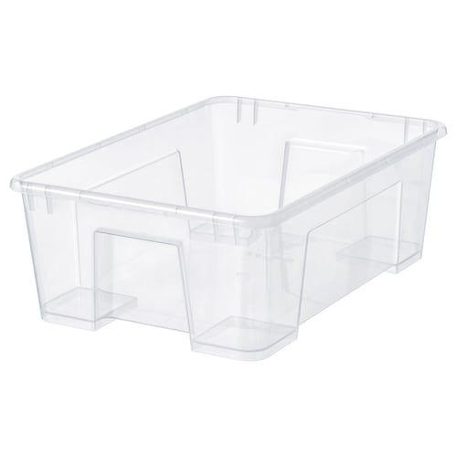 Eket Cabinet With 2 Drawers White 27 1 2x13 3 4x13 3 4 In 2020 Ikea Samla Ikea Storage Boxes Ikea Storage
