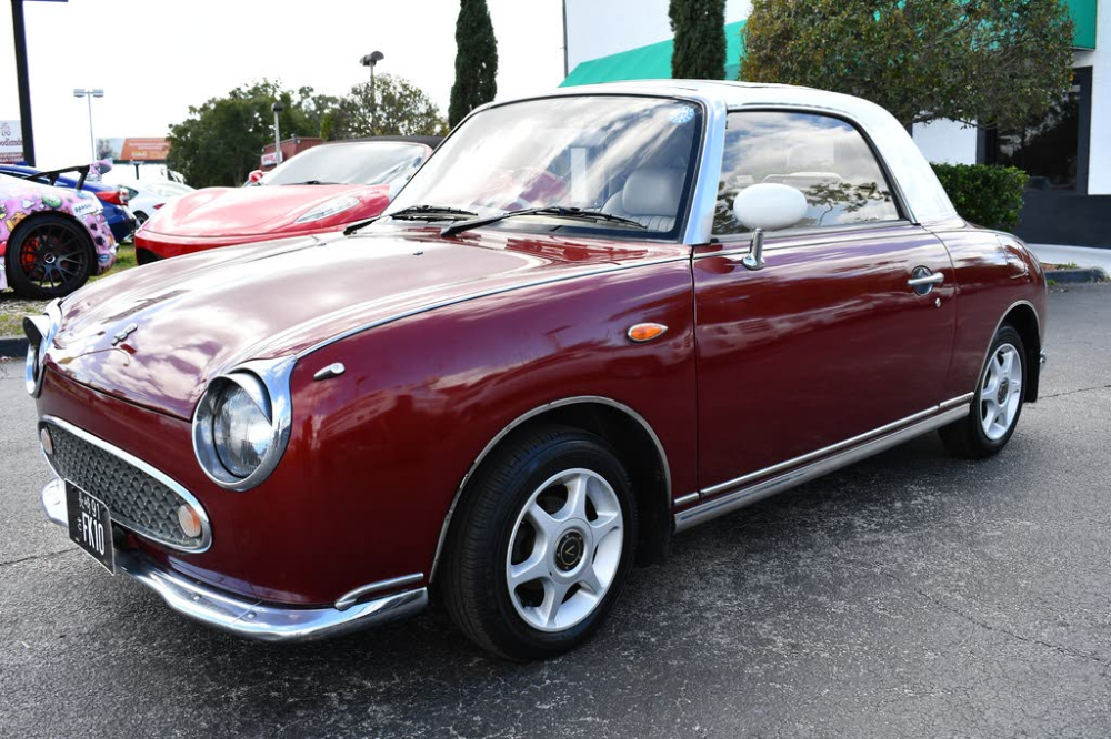 Used Nissan Figaro For Sale With Photos Cargurus Nissan Figaro Nissan Nissan Figaro For Sale