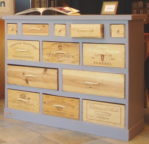 Repurposed wine box ideas