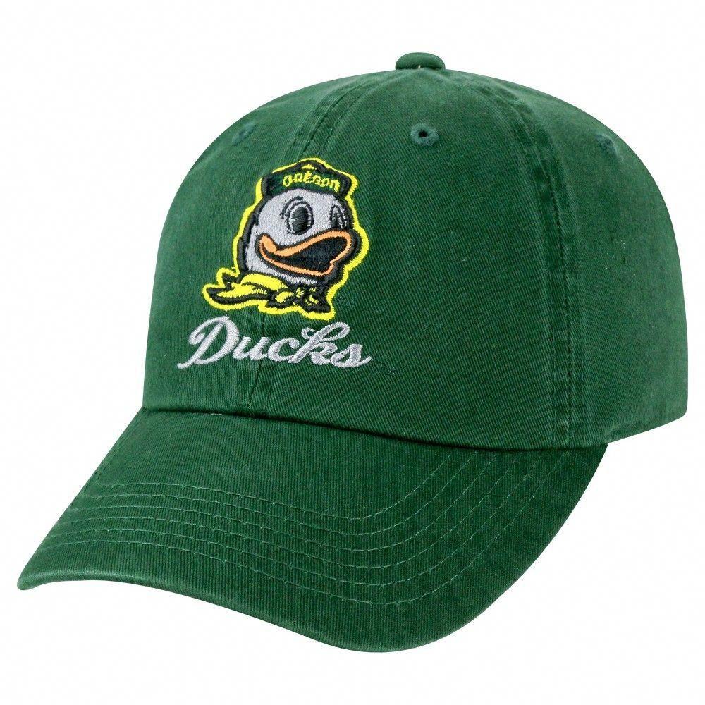 Baseball hats ncaa oregon ducks team color womens